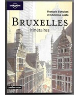 Bruxelles Itineraires (Brussels Pathways) French Travel Guide Book Schui... - $19.95