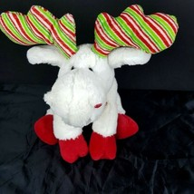 Ganz Webkinz White Minty Moose Plush Stuffed Animal No Code Christmas #A45 - $6.92