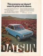 1972 Datsun 1200 2-Door Sedan Advertisement - $16.00