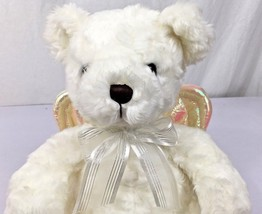 Vintage 2001 Avon Collectible 10 inch Talking Angel Bear Child's Bedtime... - $24.19