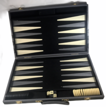 Large Vintage Backgammon Travel Board - $28.74