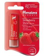 Himalayan Shine Strawberry Lip Balm 4.5 g Naturally Gloss, Soft & Nouris... - €7,09 EUR