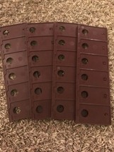 1964 Probe Board Card Game Replacement Parts Brown Flat Racks Only - re - $6.89