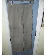 Cherokee Gray Cargo Pants Light Weight Size M (8/10) Boy's - $22.00
