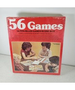 Golden Board Game Set Vintage 1981 Fun Filled Games 56  in One Box New S... - $22.74