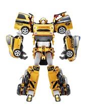 Tobot V Gold Quatran Toy Robot Transforming Transformation Action Figure image 2