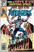 Marvel Super Action Comic Book #24 The Avengers 1980 FINE+ - $3.50