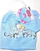 Disney Toddler Palace Pets Princess Cinderella Hat Mittens Set Blue  Sz ... - $13.91