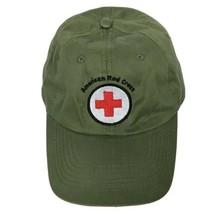 American Red Cross Logo Green Embroidered Baseball Cap Hat Strapback Adj... - $31.68