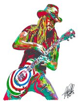 "Zakk Wylde, Ozzy, Guitar Player, Hard Rock, Heavy Metal, 18""x24"" Art Pri... - $19.99"