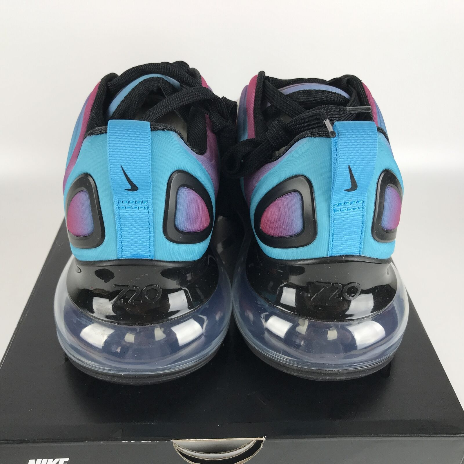 Nike Air Max 720 Running Shoes 8 Gradient Red/Blue CJ0766 600 image 5