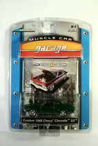Green Light Green Machine 1968 Chevrolet Chevelle Ss Muscle Car Garage S&C Chase - $89.99