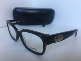 New COACH  HC 6071 5120 52mm Dark Tortoise Rx Women's Eyeglasses Frame  - $144.00