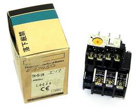 NIB FUJI ELECTRIC TK-5-1N THERMAL OVERLOAD RELAY CAT NO. 4NK0HJ, TK51N