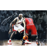 LEBRON JAMES Signed Photo COA - €256,60 EUR