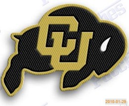 COLORADO BUFFALOES   iron on embroiderey PATCH COLLEGE UNIVERSITY state ... - $10.95