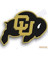 COLORADO BUFFALOES   iron on embroiderey PATCH COLLEGE UNIVERSITY state patches - $10.95