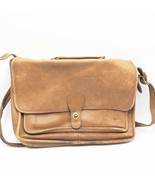 Vintage Coach All Leather Briefcase 134-0739 Tan - $103.94