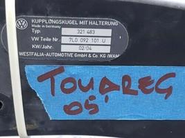 04-10 VW Touareg V10 TDi Westfalia Tow Towing Trailer Hitch image 2