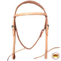 Hilason Western American Leather Horse Bridle Headstall Tan U-2-HS - $38.61