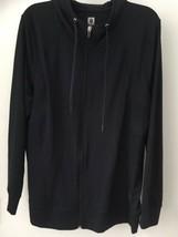Anne Klein Sport Navy Zip Up Hoodie Sweatshirt Size 2X NWT - $22.16