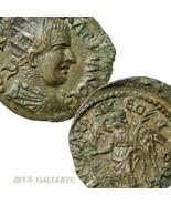 VALERIAN  Macedon Thessalonika Nike RARE Ancient Roman Empire Coin Moush... - $224.10