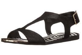 ALDO Women's Tassie Wedge Sandal, Black, Size 5 Med. - £26.54 GBP