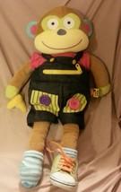 "Alex toys little hands learn to dress monkey plush doll 20"" - $19.75"