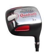 """Pour Homme avec 2 """"> Std Integra Sooolong Quadratic Carré 3 Bois Club Golf - $78.01"""