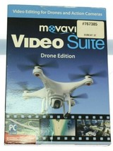 MOVAVI VIDEO SUITE: Drone Edition ~ Encore software -- NEW, FACTORY SEALED - $9.73