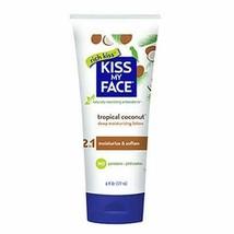 Kiss My Face Super Hydrating Moisturizer, Coconut 6 oz - $9.17
