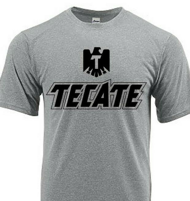 Tecate Dri Fit graphic T-shirt moisture wicking beer beach sun shirt SPF 50 tee