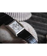 Ralph Lauren 18K WG Slim Classique 867 Square Gent's Watch. Guilloche Ve... - $16,800.00