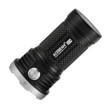 Acebeam X80-UV Flashlight / Searchlight -10,000 Lumens -20 LED's - $474.21