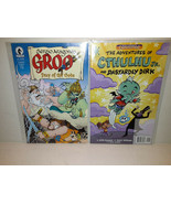 GROO #1:FRAY OF THE GODS + THE ADVENTURES OF CTHULHU JR. - FREE SHIPPING - $14.03
