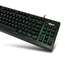QSENN SEM-DT25T Korean English Gaming Tenkeyless Keyboard USB Wired Compact image 2