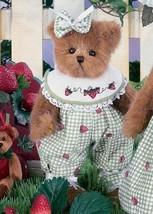 """Bearington Bears """"Cheri Beary""""  10"""" Plush Bear- #1543 - NWT- 2005 - $29.99"""