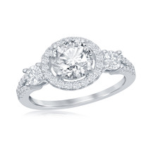 Women's .925 Silver Solitaire ring - $44.99