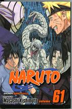 Naruto 61 Uchiha Brothers United Front Masashi Kishimoto Manga Graphic N... - $5.00