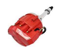 Marine HEI Electronic Distributor 65K Coil 350 454 Chevy V8 Mercruiser OMC Red image 5