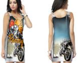 Biker racing style  bodycon dress for women thumb155 crop