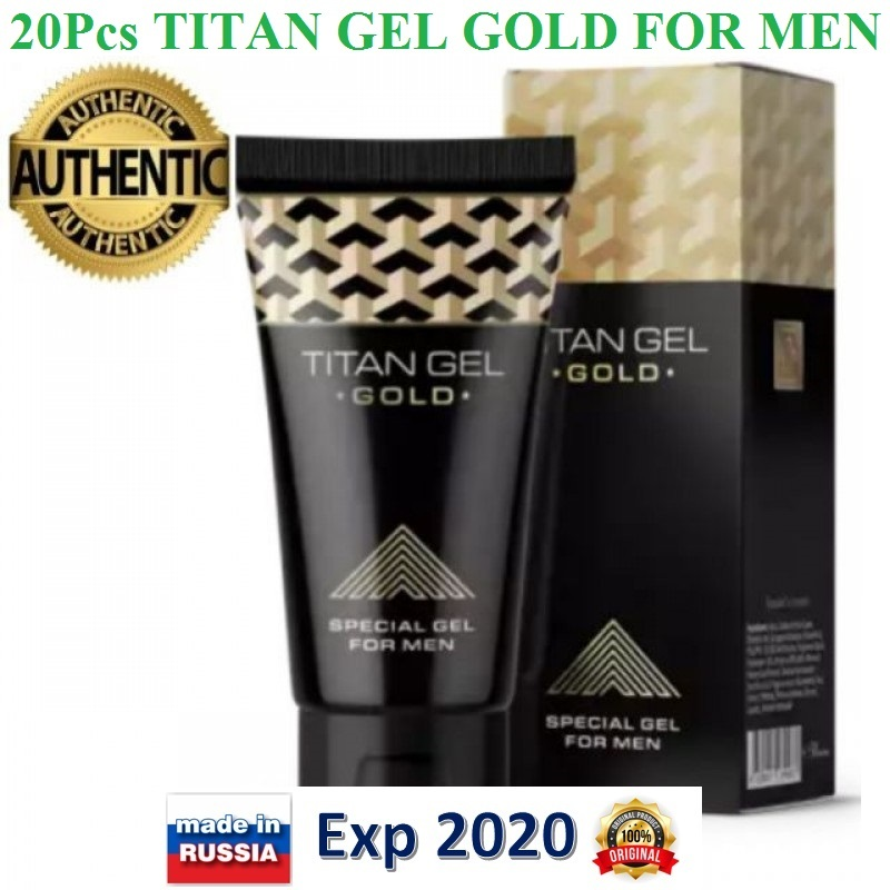 20pcs titan gel gold intimate special gel and 40 similar items
