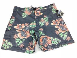 9eb097df60 Roundtree & Yorke floral swim trunks board shorts mens 2XB NEW with  tags - $19.79