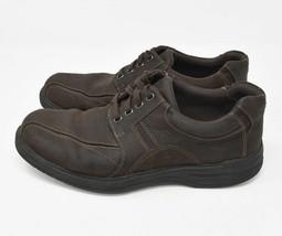 Bostonian Men's Sz 10M Black Leather Upper Slip On Loafer Casual Shoes 26102597 - $29.95