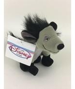 "Disney Store Lion King Hyenas Shenzi Mini Bean Bag Stuffed Toy 8"" New Wi... - $31.14"