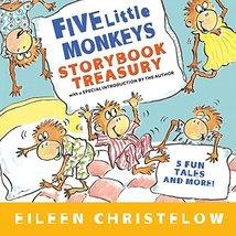 Five Little Monkeys Storybook Treasury (A Five Little Monkeys Story) [Ha... - $8.37