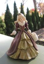 Holiday Barbie Doll Vintage Christmas Tree Ornament 1996 Mattel Hallmark Cards - $5.70
