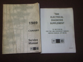1989 Chevy Chevrolet Camaro Ss Z28 Rs Service Shop Repair Manuell Set Fa... - $142.99