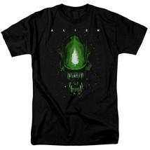 Alien Movie T-shirt Horror Action Sci Fi Aliens Black Tee Retro 70's 80's TCF667 image 1