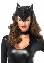 Leg Avenue Feline Femme Fatale Cat Woman Mask Halloween Costume Accessory A1048 - $15.73